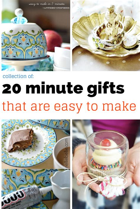 quick easy homemade christmas gifts easy gift ideas gifts from nelliebellie
