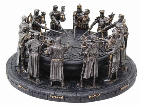 knights of the table statue