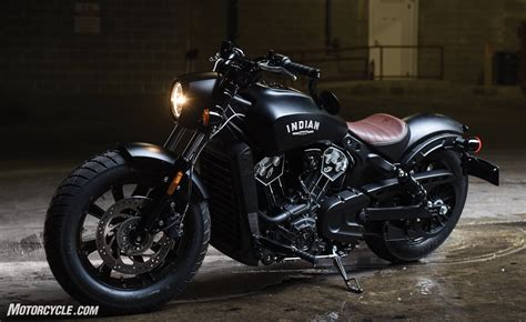 2018 Indian Scout Bobber Unveiled