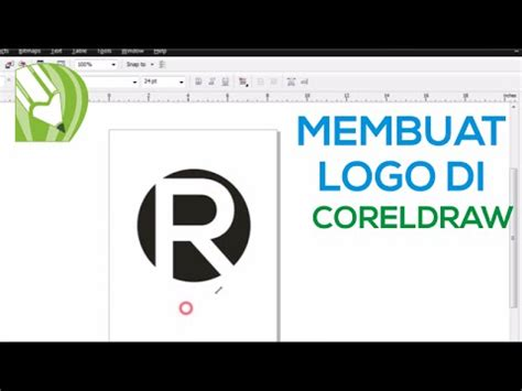 tutorial membuat logo xl corel draw cara cepat membuat logo di coreldraw tutorial 2 youtube