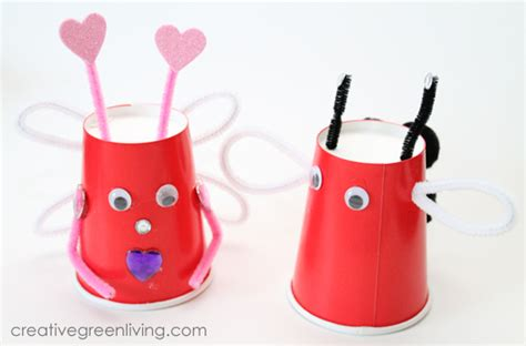 craft with paper cups craft make bugs for s day with