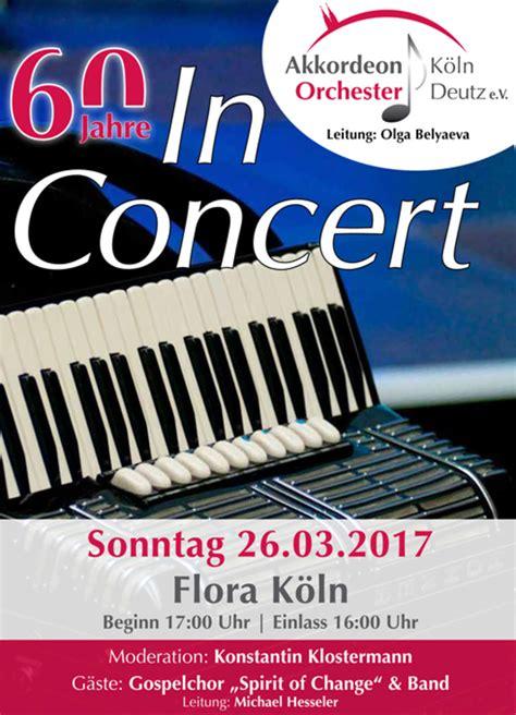 Auto Ummelden Köln by 60 Jahre In Concert Stadt K 246 Ln