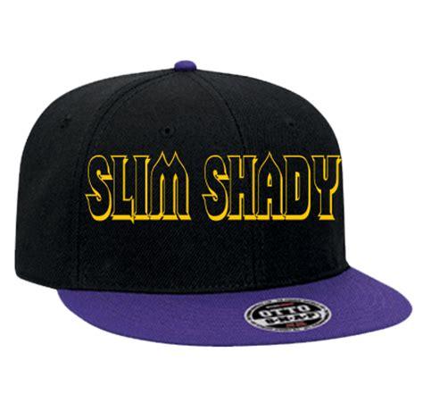 eminem hat slim shady eminem snapback flat bill hat 125 978 125