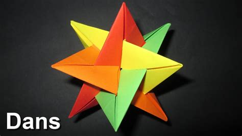origami  star christmas decoration ideas
