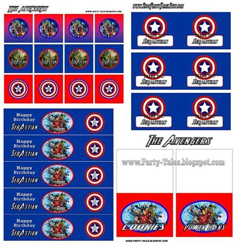 printable avengers labels 17 best images about dilanns 4years on pinterest
