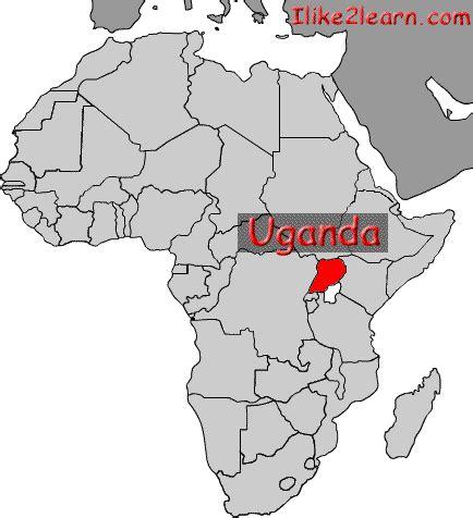 uganda on world map uganda