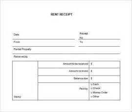 standard receipt template rental receipt template 27 free word excel pdf