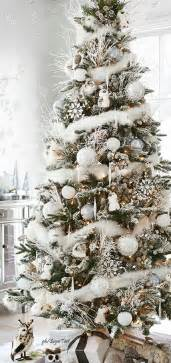 1000 ideas about white christmas trees on pinterest