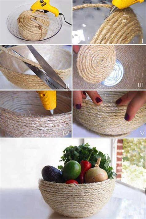 Handmade Ideas For Home - 34 fantastic diy home decor ideas with rope amazing diy
