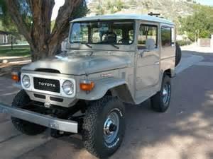 1979 Toyota Fj40 For Sale 1979 Toyota Land Cruiser Fj40 For Sale From Walnut Creek