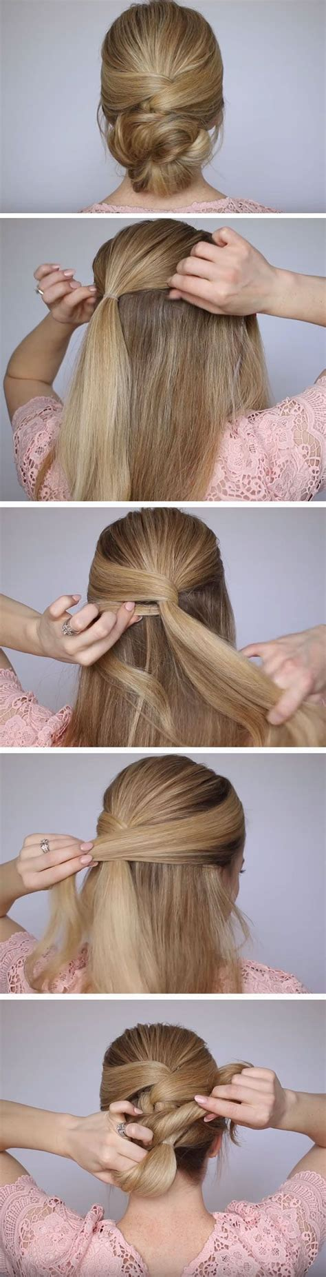 Homecoming Hairstyles For Medium Hair by Best 25 Easy Low Bun Ideas On Chignon Bun
