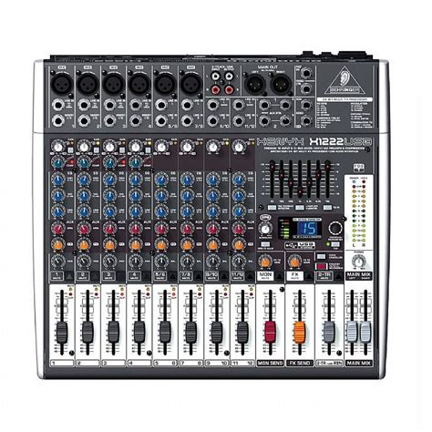 Mixer Audio Behringer 16 Chanel behringer x1222 usb xenyx 16 channel mixer tracktion 4