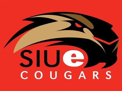 Siue Search Southern Illinois Edwardsville Cougars College Sports Logos Pinte