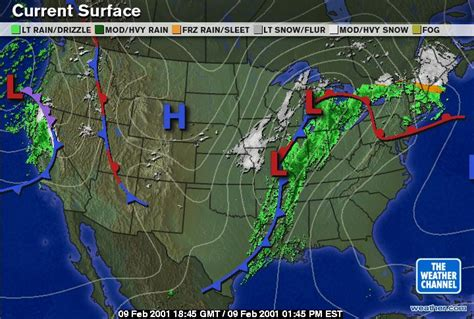 us weather map in february feb8 9twcwxmaps