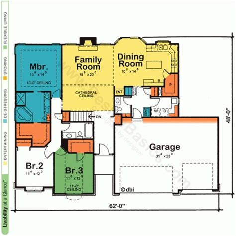 open house plans one floor stunning one story house plans with open floor plans