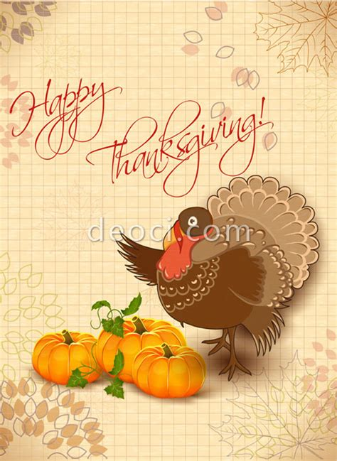 customize thanksgiving card template vector thanksgiving card design template eps ai file free