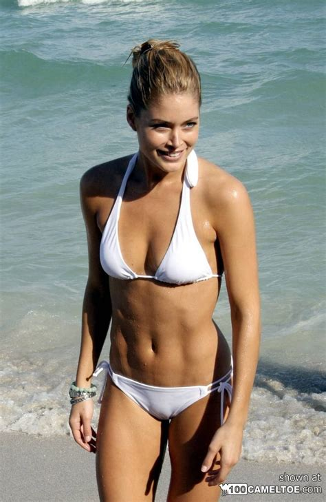 Lingerie Cameltoe Of Model Doutzen Kroes Pichunter