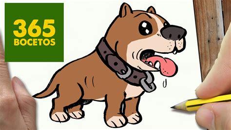 imagenes del otoño en caricatura como dibujar un perro pitbull paso a paso os ense 241 amos a
