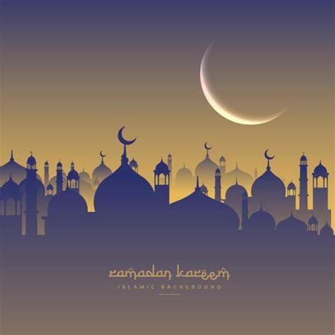 islamic ramadan festival  moon  masjid