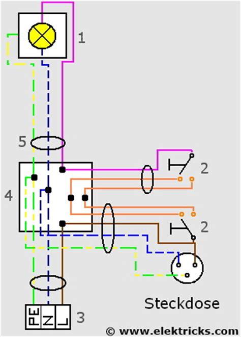 le anschliesen lichtschalter steckdosen kombination tp59 hitoiro