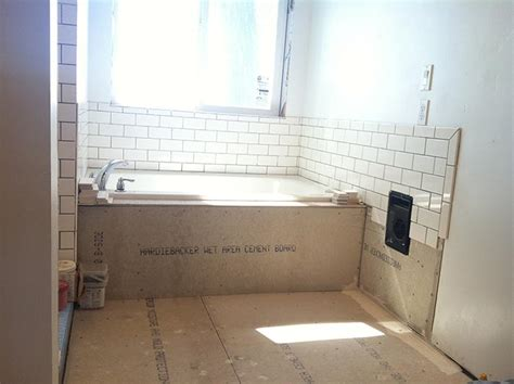 before amp after a modern bathroom for a 1905 farmhouse