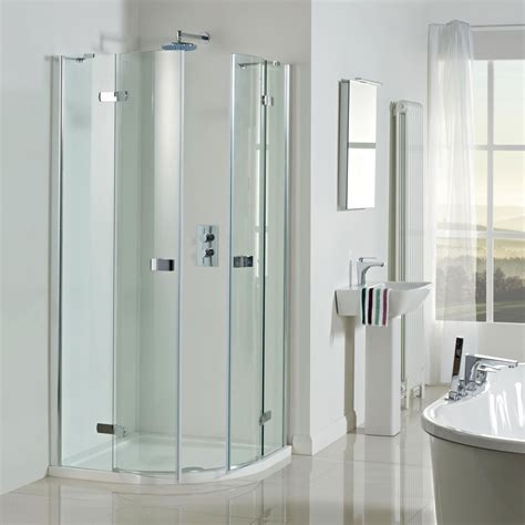 Shower Door 900 Vision 8mm 1200 X 900 Frameless Pivot Door Offset Quadrant Shower Enclosure Offset Quadrant