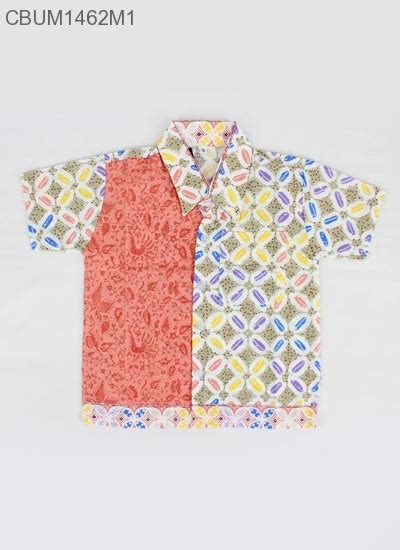 Batik Kemeja Anak 3c47ka S kemeja batik anak motif kawung size s kemeja murah batikunik