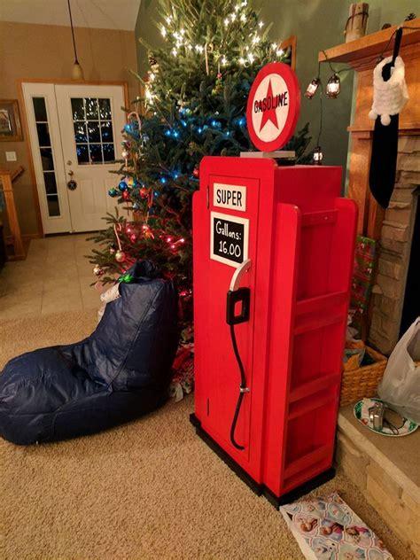 ana white gas pump bookshelf christmas present diy