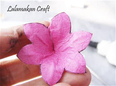 cara membuat bunga sakura dari kertas warna kreasi kreatif bunga dari kertas
