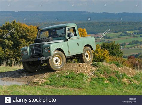 land rover series 3 swb light green 1970s land rover series 3 swb truck cab on a