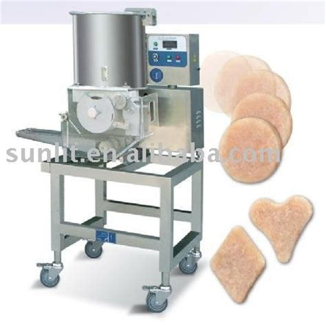 chicken nugget forming machine view chicken nugget