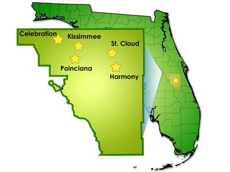 Osceola County Fl Search Osceola County Map My