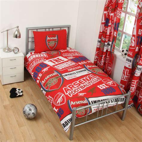 football comforters football team single double duvet cover sets arsenal