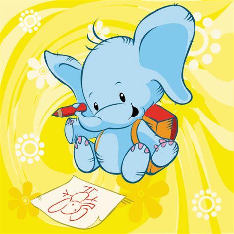 imagenes tiernas vectorizadas 4 ilustraciones infantiles vectorizadas de animales