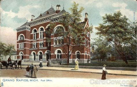 Grand Rapids Post Office by Post Office Royalty Free Image