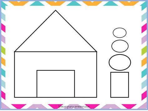 imagenes de niños jugando con figuras geometricas ideas para preescolar dibujos con figuras geom 233 tricas