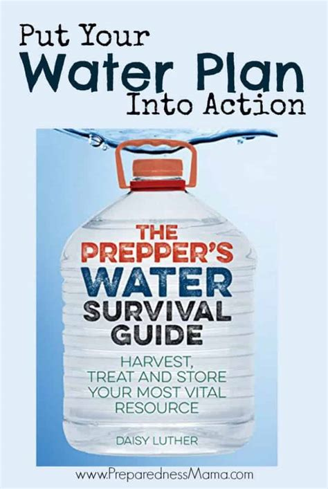 preppers water survival guide preparednessmama
