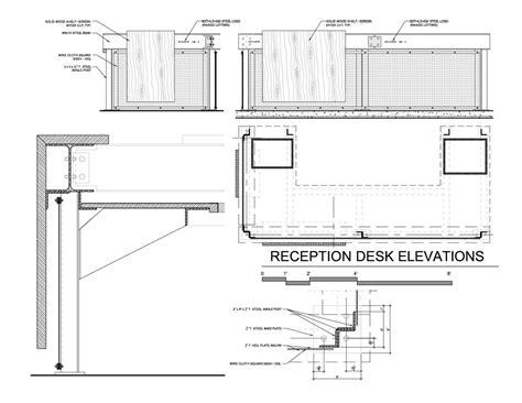 Reception Desk Detail Gallery Of Bethlehem Steel Site Spillman Farmer