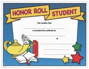 Honor Roll Certificates For Student Recognition Paperdirect Blog » Home Design 2017