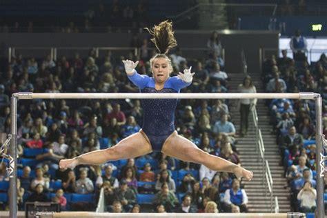 katelyn ohashi bars no 5 bruin gymnastics improves despite falling to no 3