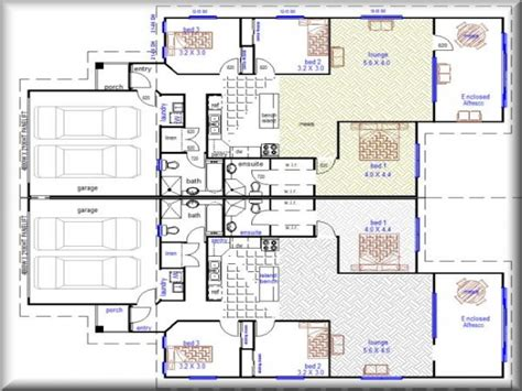 floor plans for duplex houses small house exterior design duplex house plans designs