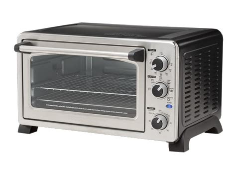 Farberware Countertop Convection Oven With Rotisserie by Farberware Stainless Steel Mc25cex Oven Toaster