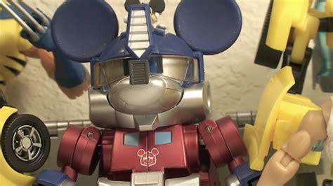 Donald Transformer Takara transformers takara disney label mickey mouse transformer