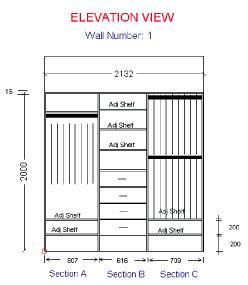 Standard Wardrobe Width - flat pack wardrobe inserts corner shelf melbourne sydney