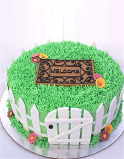 welcome home house cake this cake was made as a order customised housewarming cakes from gurgaonbakers