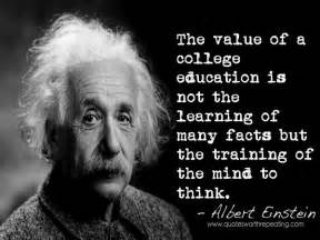 What Is The Value Of A College Education Essay by Albert Einstein Quotes Imagination Image Quotes At