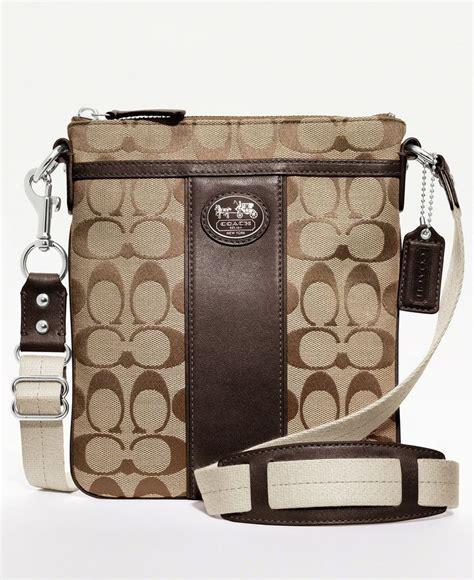 Signature Wilbury Messenger Bag by Coach Sutton Signature Swingpack Crossbody Messenger