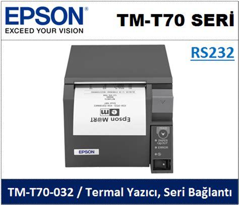 Printer Epson Seri T fi蝓 yaz莖c莖lar