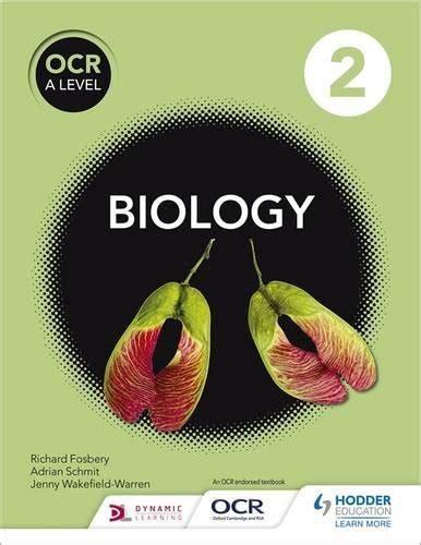 ocr  level biology student book