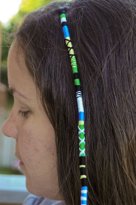 Hair Wrapping Pictures | stuff and such hair wraps